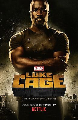 Luke Cage poster (b)  -  11 x 17 inches - Mike Colter