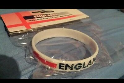 England supporter wristband Football Rugby  Euro 2016 Sport Cheap Clearance