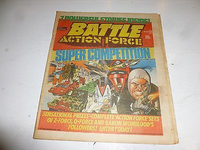 BATTLE ACTION-FORCE Comic - Date 12/11/1983 - UK Paper Comic