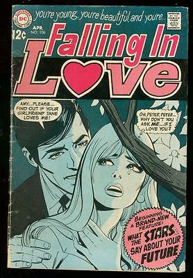 Falling In Love #106 1969-Dc Romance--Astrology Issue Vg-