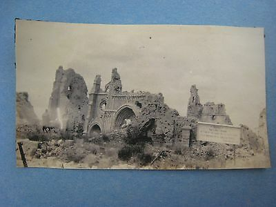 Original Ww1 Photo....ypres...cathedral..