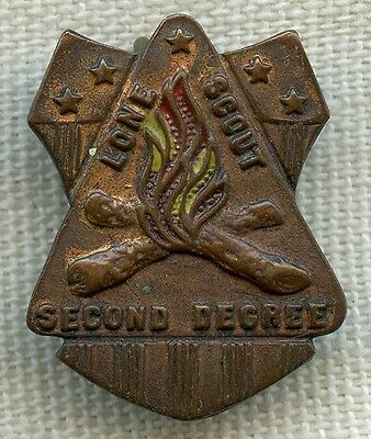 1916 - 1928 Lone Scout Second Degree Badge