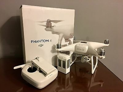 dji phantom 4 With 2 Batteries And Extras. Flown Once