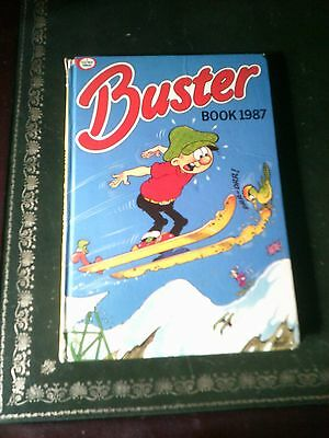Buster Book 1987, UK Comic Annual, Vintage Book, Published in 1986