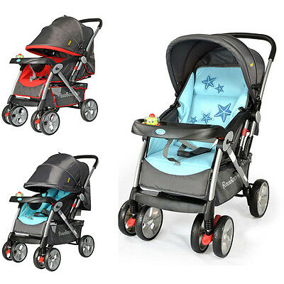 Hot Baby Stroller With Music Toy Safety Stable Infant Pushchair Carriage Pram