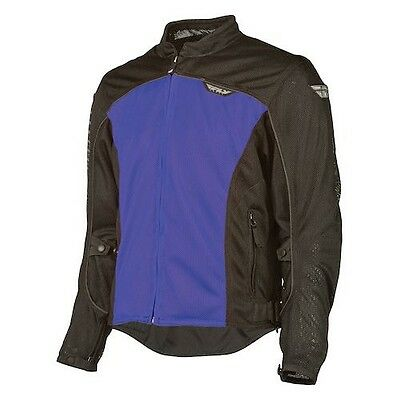 Fly Racing Flux Air Mesh Jacket, Men's XL, Blue, NWT