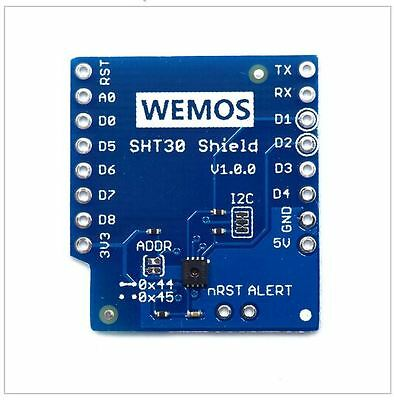 SHT30 Temperature And Humidity Shield Wemos D1 Mini IOT ESP8266 Arduino NodeMcu