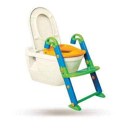 Orinal Infantil Reposapiés Ajustable-Tummy Tub Asiento Reductor WC Con Escalon