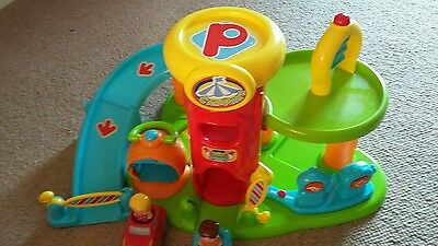 toy garage  with cars people light and sound ideal Christmas birthday present