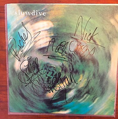 Slowdive 12inch ep/lp fully signed /my bloody valentine pixies chapterhouse