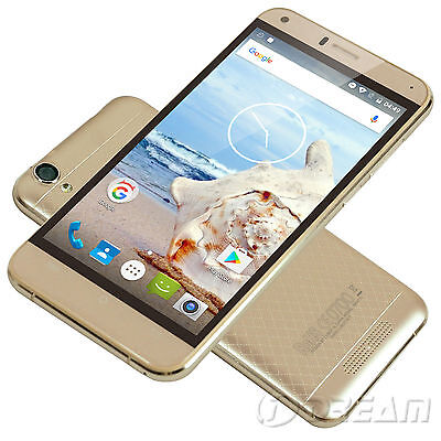 "5.0"" CUBOT Manito 4G LTE Smartphone Android 6.0 Quad Core 3GB 16GB 13MP Unlocked"