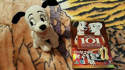 101 dalmatians dvd with original toy