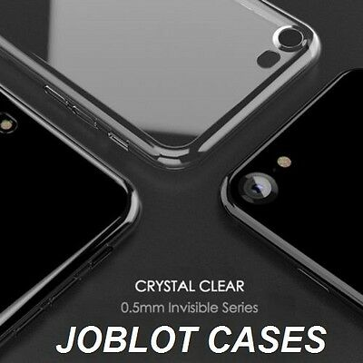 500 x Joblot Luxury Ultra Slim Crystal Clear Case Silicone Cover For iPhone 7