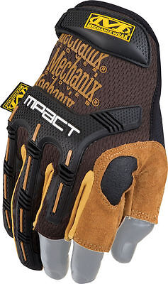 Mechanix Wear MPACT M-PACT Gloves LEATHER FRAMER SMALL (8)
