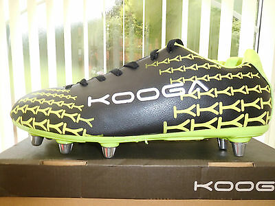 New,  Kooga  Rugby  Boots   Mens  U.k.  Size   13.5