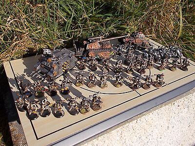Warhammer 40K Iron Warriors Chaos Space Marine Large Army painted job lot