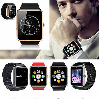 GT08 Bluetooth Smart Wrist Watch GSM Phone For iOS iPhone Android Phone New