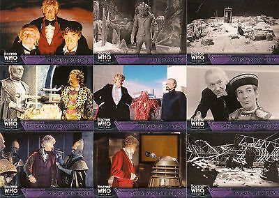 Doctor Who Timeless 2016 Topps Base Card Set Of 100 Tv