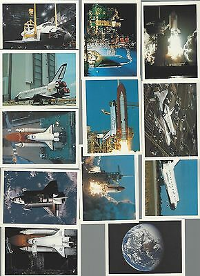 Space Shuttle Collection  12 Mini Pictures
