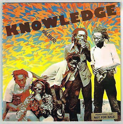 a & m LP : KNOWLEDGE-hail dread    (hear)     roots reggae promo