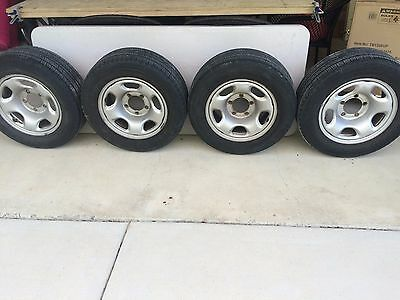 Full set of 235x60x16 rims and tyres