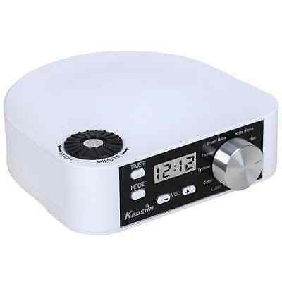 KEDSUM Portable and Stylish White Noise Machine, Sleep Sound Therapy System for