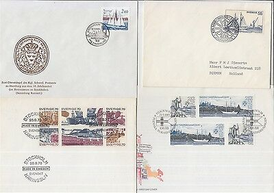 ships boats Sweden 4 covers