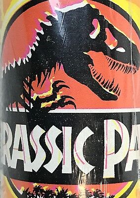 Jurassic Park 1992 Gift Wrap Roll 75 Square Feet Brentwood Unused Minor Damage
