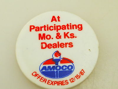 Vintage 1987 Amoco $1 Off Ultimate or Silver Lead Free Gas Token Coin
