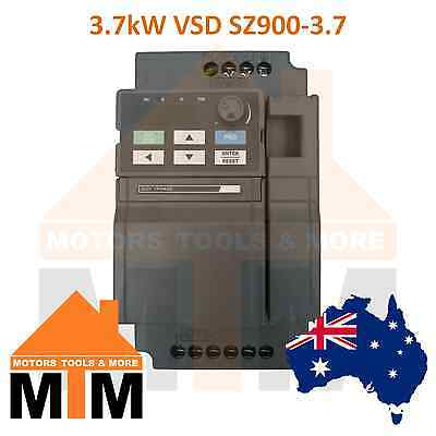 Single Phase 3.7kW 5HP VSD VFD Variable Speed Frequency Drive Inverter