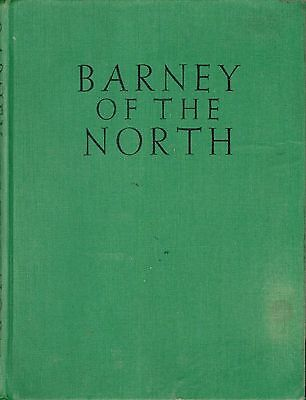 Dog Book BARNEY OF THE NORTH Lanseer Newfoundland Johnson HBFE1930 FABULOUS RARE