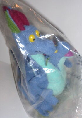 Warner Bros Smuckers exclusive,Quest for Camelot Devon & Cornwall plush, sealed