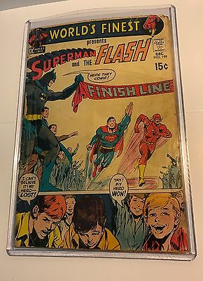 Worlds Finest Comic Issue #199 Superman And The Flash 15 Cent Comics