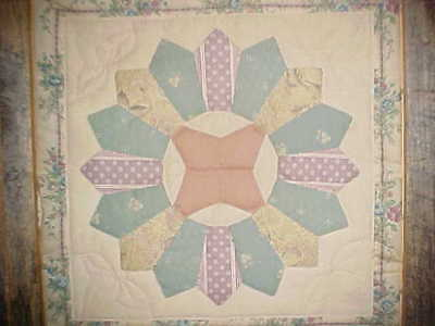Framed Quilt American Folk Art by Rob & Geneva Auberry