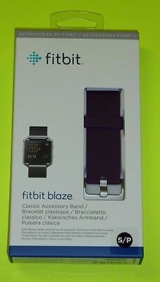 Fitbit Official Replacement Classic Band (Plum , Small) for Fitbit Blaze