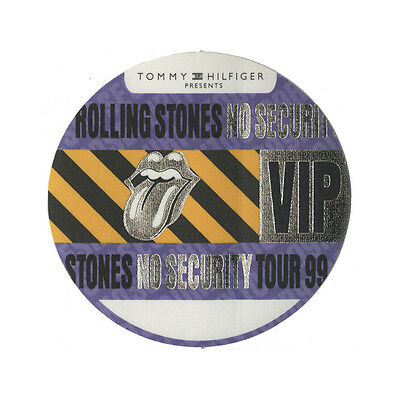 Rolling Stones authentic VIP 1999 tour Backstage Pass