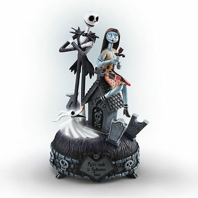 Bradford Nightmare Before Christmas Jack & Sally A MATCH MADE IN HALLOWEEN NEW