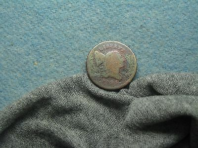 1795 Half Cent! Punctuated Date! Colorful Corrosion! (290)