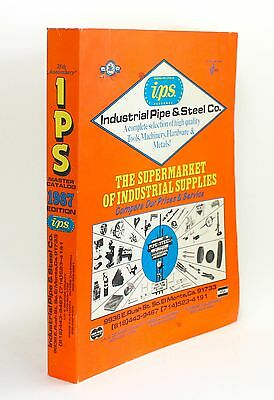 Industrial Pipe & Steel IPS Vtg 1987 25th Anniversary Master Tool Catalog 1980s