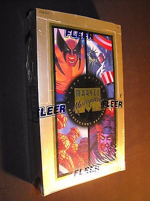 Marvel Masterpieces Hildebrandt Fleer 1994 Factory Sealed Comic Card Box L@@k
