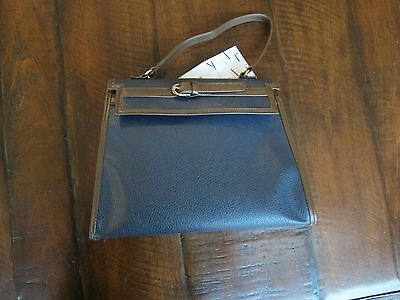 Janie and Jack Riding Lesson Navy Blue Brown Purse Bag NWT! VHTF!