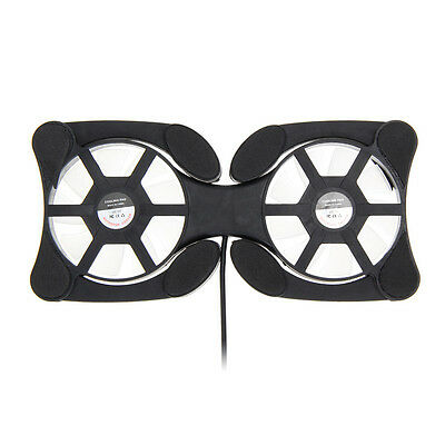 Mini Quiet Fans for 7-15 inch Notebook Laptop Fan Cooler Cooling USB Portable UK