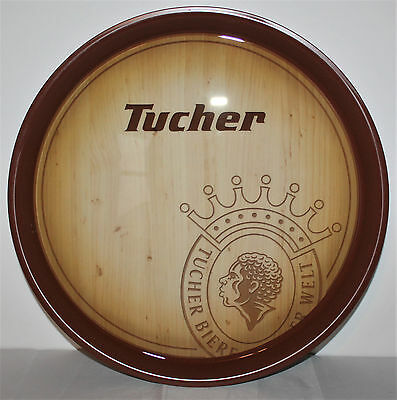 Tucher Bier Holz Optik Tablett Bar Gastro Kneipe Restaurant Kellner NEU