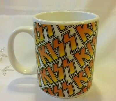 Official Kiss Mug Signature Network Rock Express Brand New Rare Collectable
