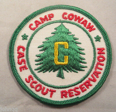 Boy Scout BSA Embroidered Patch - Camp Cowaw Case Scout Reservation
