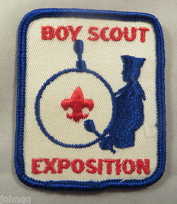 Boy Scout BSA Embroidered Patch - Exposition