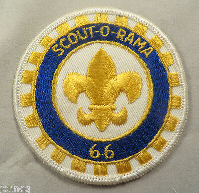 Boy Scout BSA Embroidered Patch - Scout-O-Rama 1966