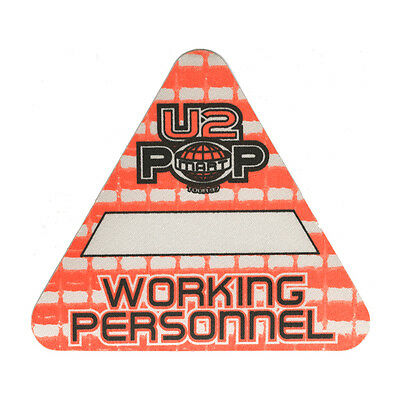 U2 authentic Working 1997 tour Backstage Pass