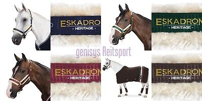 Eskadron Halfter Pin Fauxfur synthetisches Fell Heritage alle Farben WB