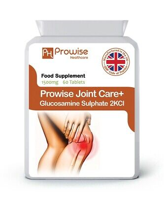 Joint Care + Glucosamine Sulphate 2KCL 1500mg 60 Tablets - Joint Pain Relief